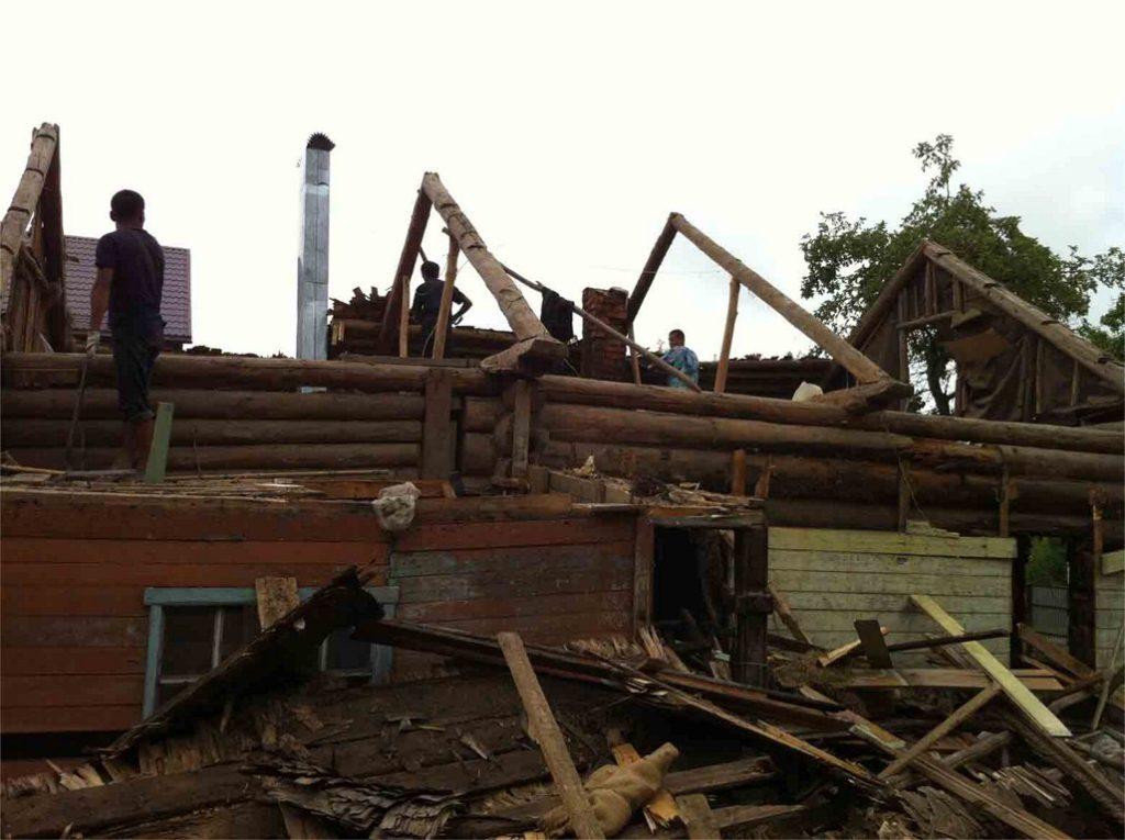 Демонтаж деревянных домов