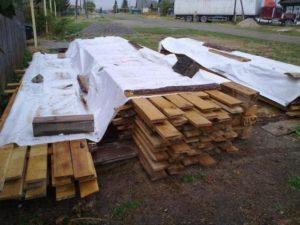 Демонтаж дома с сохранением материала