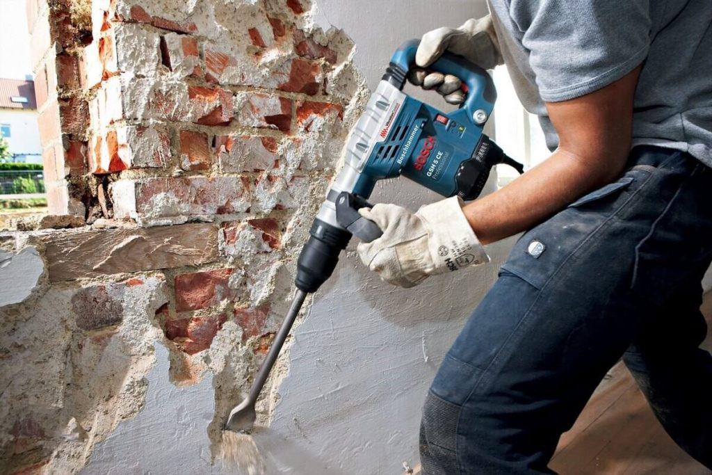 Сбивка бетона полистирол керамзитобетон